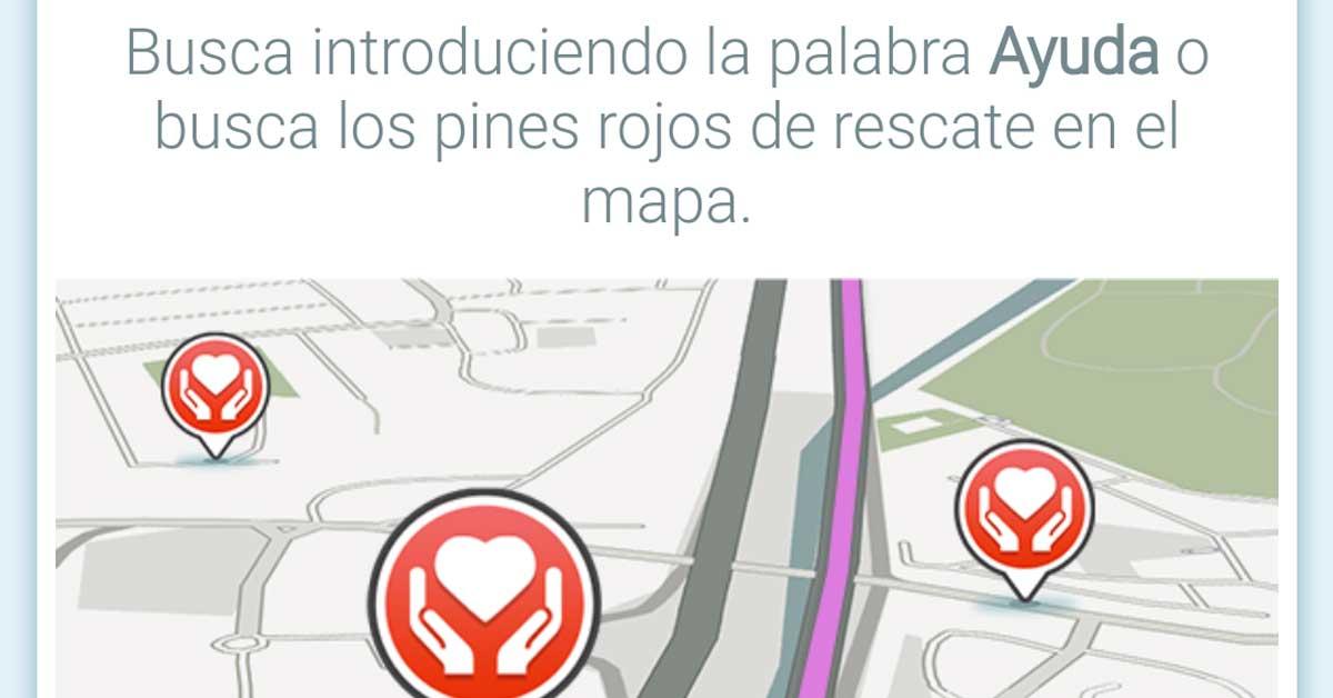 Waze ayuda a que afectados por tormenta ubiquen centros de ayuda