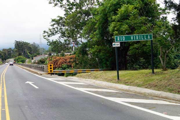 MOPT descarta daños en puente del Virilla sobre la ruta 32