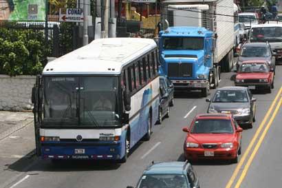 Estas son las rutas de buses que se mantienen suspendidas
