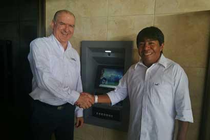 BN instaló cajero automático en cabécar