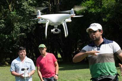 Universidad impartirá curso sobre uso de drones