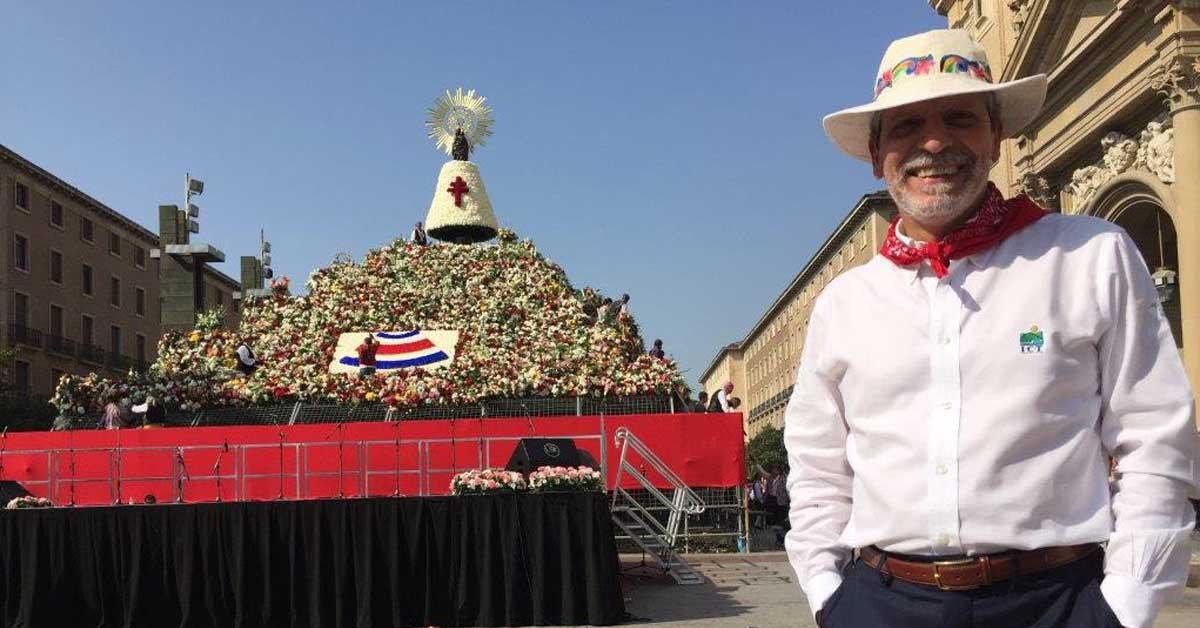 Costa Rica se luce como país invitado en Zaragoza, España