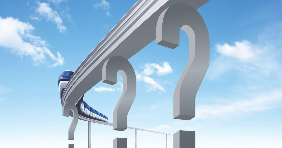Tren urbano del Gobierno genera optimismo y dudas