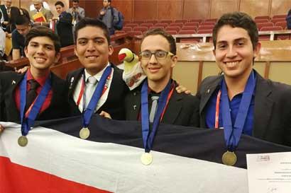Costa Rica ganó la Olimpiada Iberoamericana de Química 2017