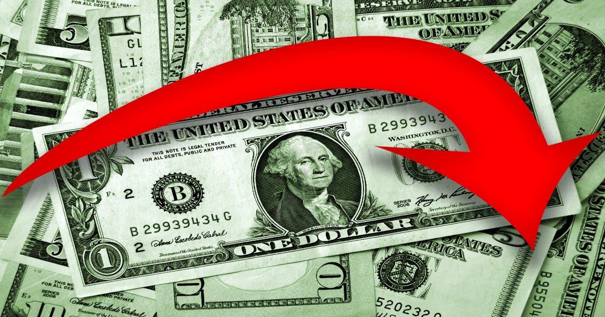 Dólar alcanzó su mínimo en cinco meses