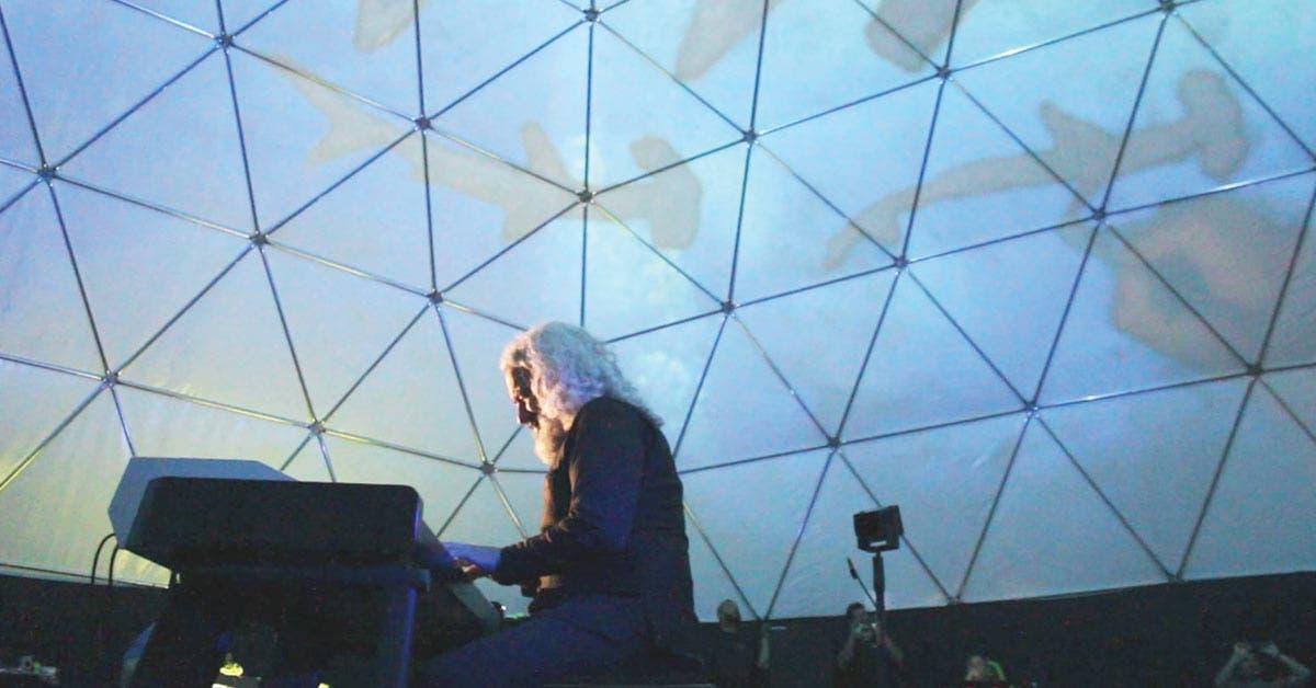 Música y arte plástico en vivo se fusionan en espectáculo