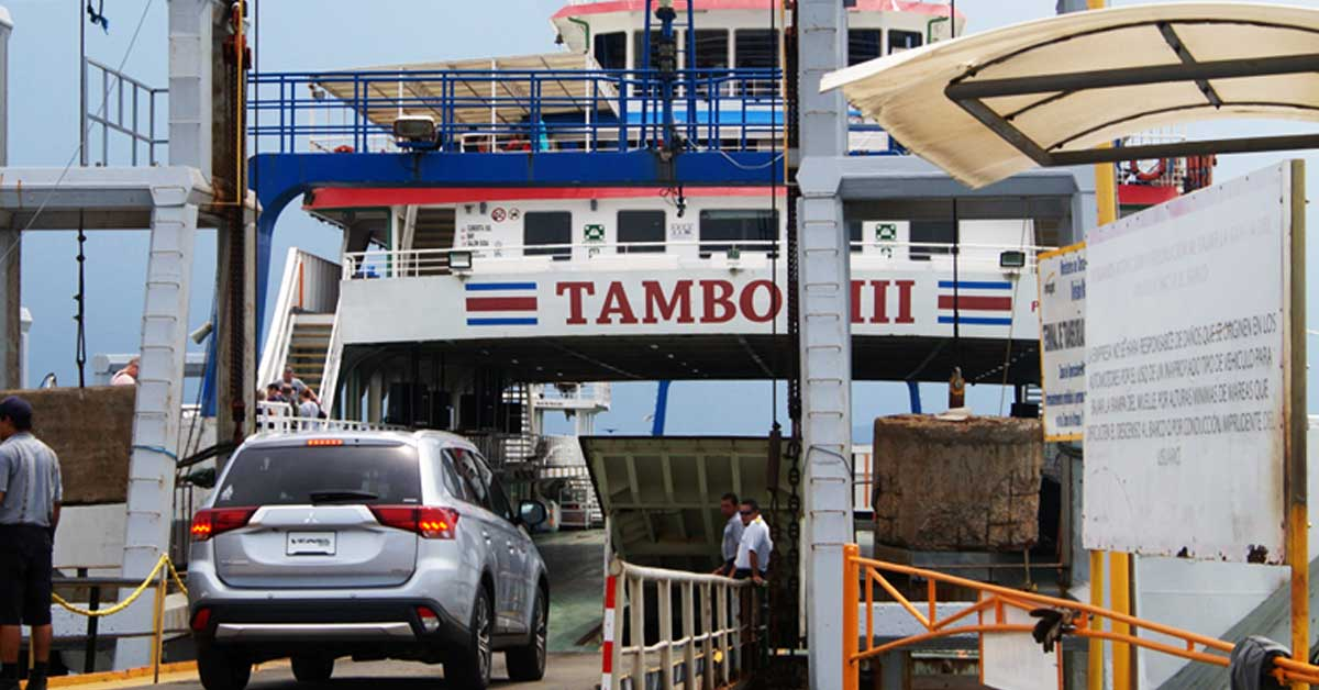 Horario del ferry cambiará por mantenimiento