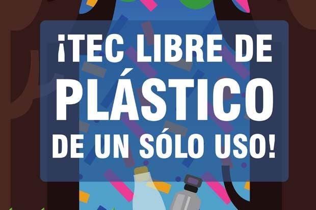 TEC se declara libre de plástico de un solo uso