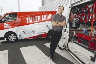 Grupo Purdy Motor aumenta flotilla de talleres móviles