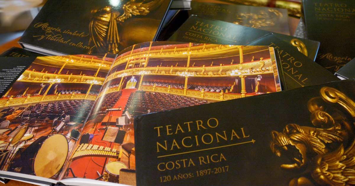 Libro sobre el Teatro Nacional ya está a la venta