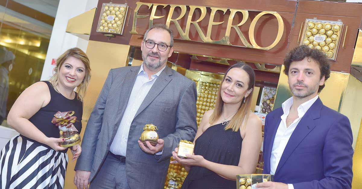 Ferrero Rocher lanza campaña y estrategia navideña