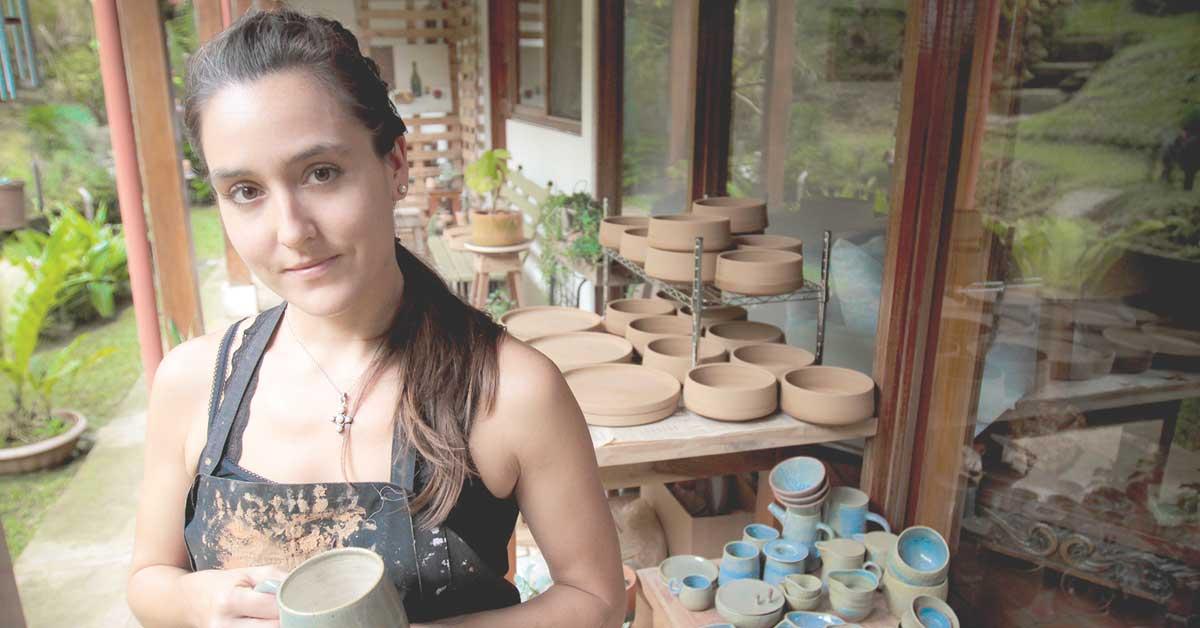 Pia Pottery: un emprendimiento hecho de barro