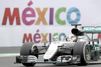 Hamilton a un paso de consagrar su imperio de F1 en México