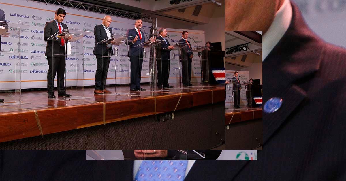 Precaución marcó la pauta en debate presidencial