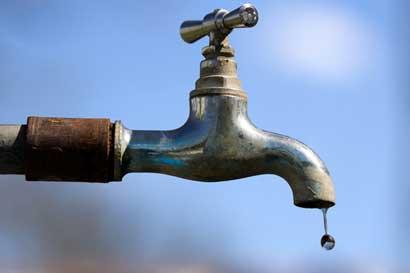 Escazú, Santa Ana y Mora estarán sin agua mañana