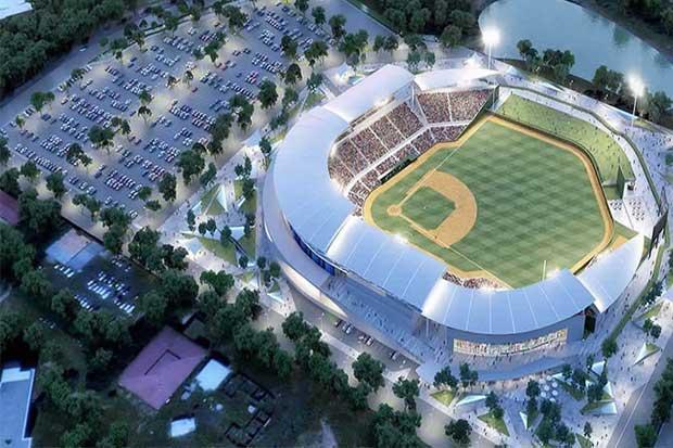 Nicaragua inaugura el estadio de béisbol más grande de Centroamérica