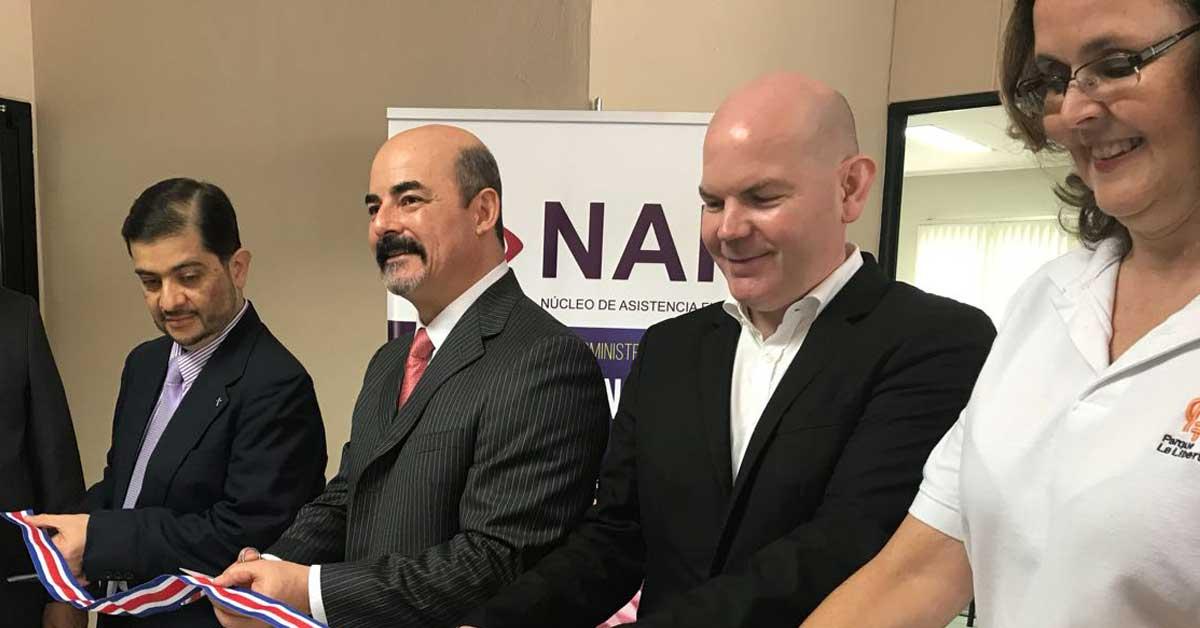 Fidélitas inauguró módulo de asistencia fiscal para emprendedores