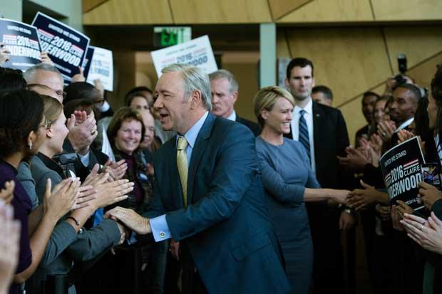 """""""House of Cards"""" terminaría con su sexta temporada por denuncia contra Kevin Spacey"""