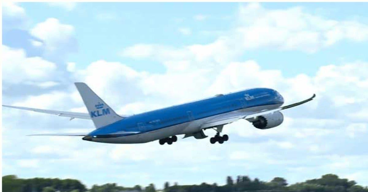 Primer vuelo de KLM llegará mañana al país