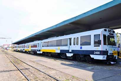 Ruta del tren entre San José, Heredia y Alajuela se mantiene suspendida