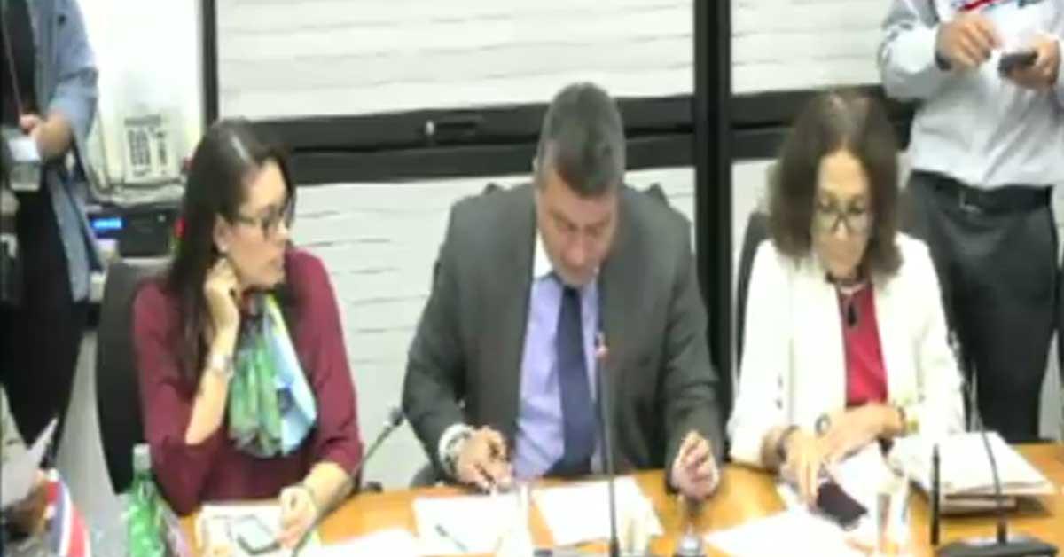 Comisión investigadora de créditos del BCR podrá convocar más comparecencias