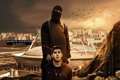 ISIS amenaza el Mundial ahora con jugadores del Madrid, Ronaldo y Asensio