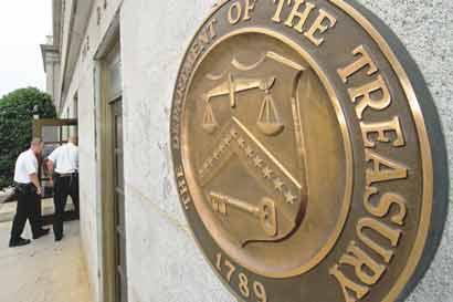 Tesoro de EE.UU. mantendrá endeudamiento en $62 mil millones