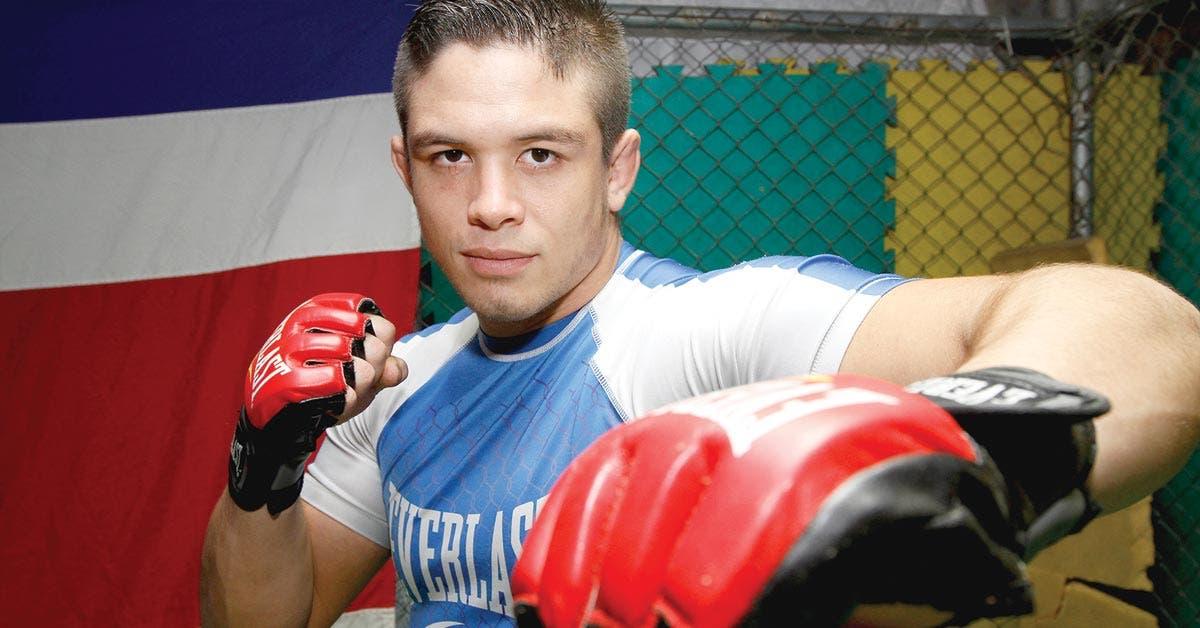 Peleador tico cerca de cumplir sueño de estar en UFC o Bellator