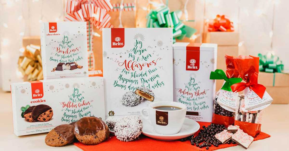 Britt endulza la Navidad con nuevos productos