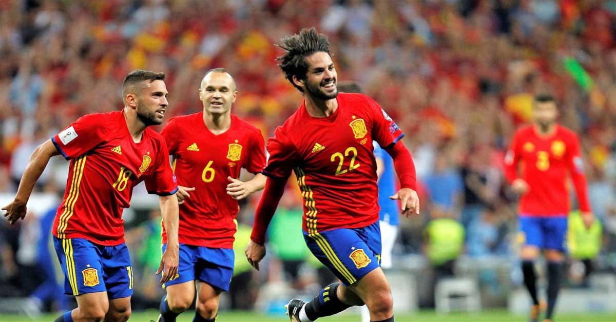 España convoca equipo de ensueño para enfrentar a Costa Rica