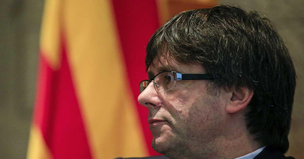 Giran orden de detención internacional para expresidente de Cataluña
