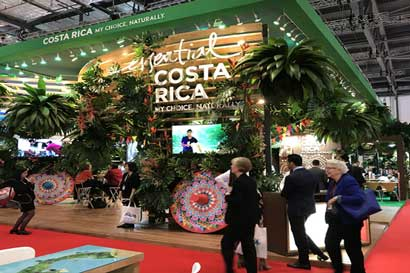 Costa Rica se promociona como destino en Londres