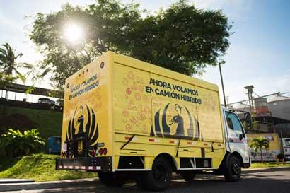 Imperial reduce hasta 37% de emisiones con camión híbrido
