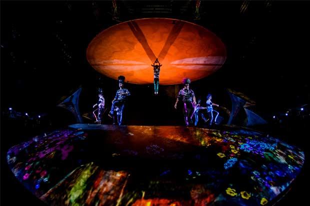 Cirque du Soleil se presentará en Costa Rica del 14 al 25 de febrero
