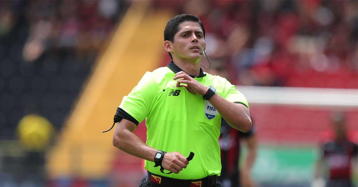 """Árbitro tico Ricardo Montero: """"Queremos estar en el Mundial"""""""