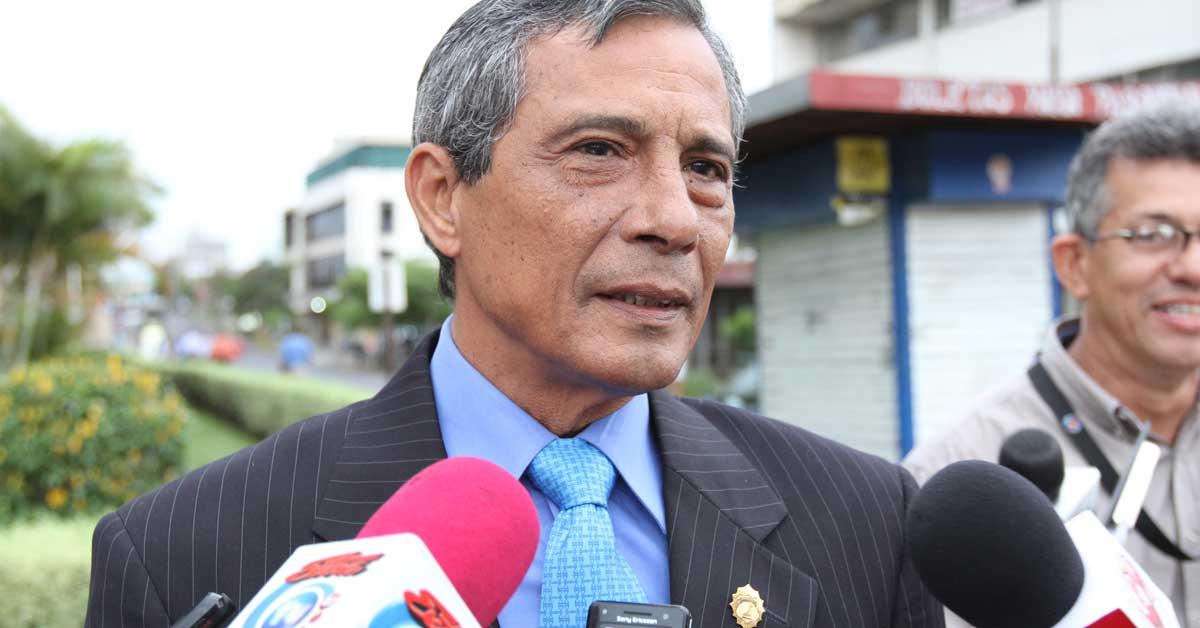 Fiscal general denuncia a Jorge Chavarría por desestimar causas contra Celso Gamboa