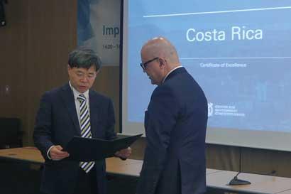 Costa Rica se posicionó tercero en raking de gobernanza de Universidad de Seúl