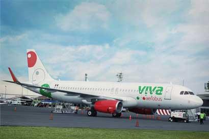 Viva Aerobus iniciará operaciones en Costa Rica el 1° de diciembre