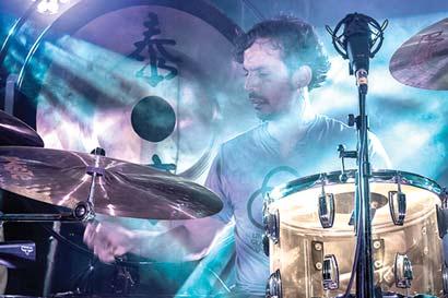 25 bateristas ticos rendirán tributo a Bonham