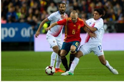 España sonrojó a La Sele