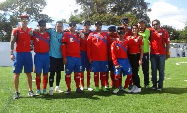 Costa Rica se corona campeón centroamericano en fútbol para ciegos