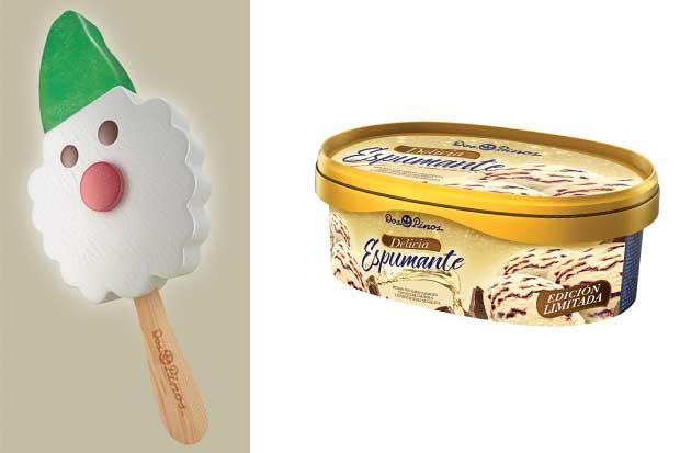 Dos Pinos lanzó dos helados más para celebrar Navidad