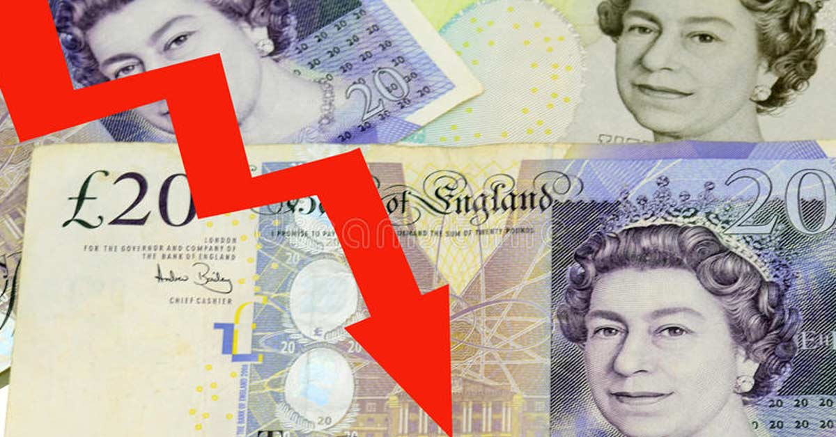 Libra cae ante dudas sobre liderazgo de May para el Brexit