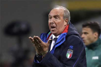 Italia destituyó a su técnico tras mayor fracaso en 60 años