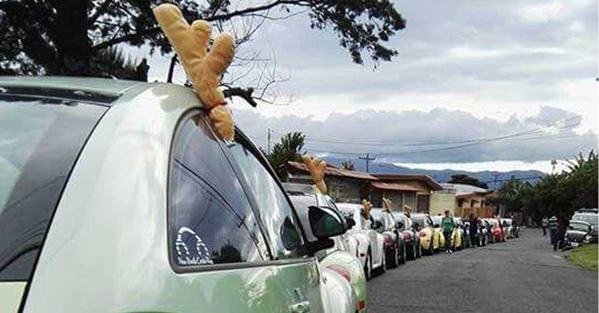 Vochos realizarán desfile navideño