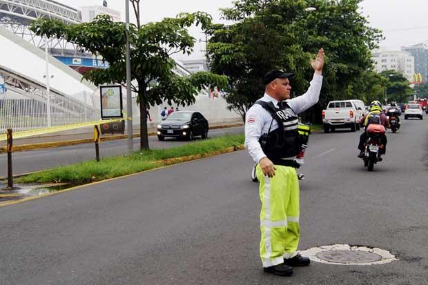 Tránsito reforzará presencia para descongestionar vías y disminuir accidentes