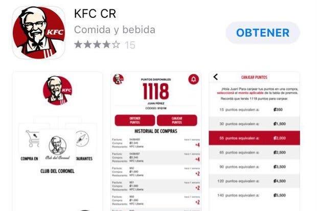 KFC lanzó la aplicación Club del Coronel