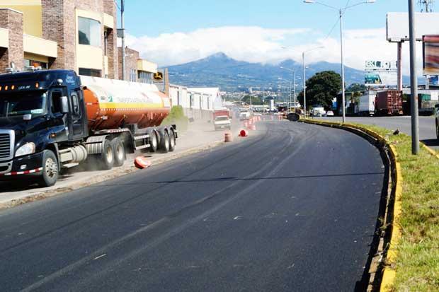 """Cierres diurnos en Circunvalación son necesarios para que se """"cure el cemento"""""""