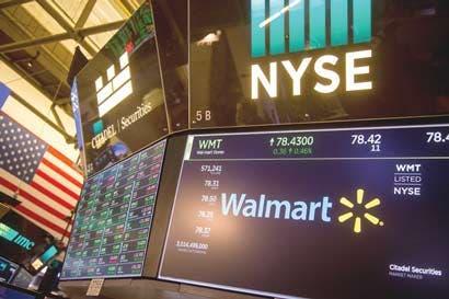 Wal-Mart registra mejores cifras de ventas en ocho años