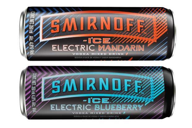Smirnoff Ice Electric suma dos nuevos sabores